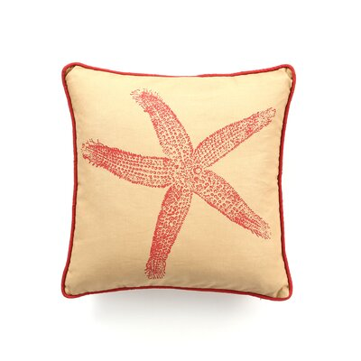 Kevin O'Brien Studio Starfish Decorative Pillow