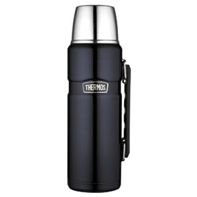 Thermos King 40 oz Insulted Bottle Serving Cup in Midnight Blue
