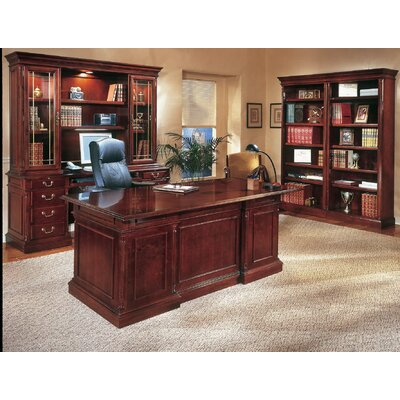 DMI Office Furniture Keswick Executive Office Suite with Bookcases