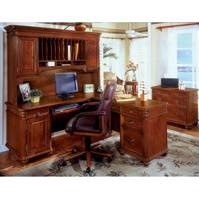 DMI Office Furniture Antigua L-Shape Desk Office Suite