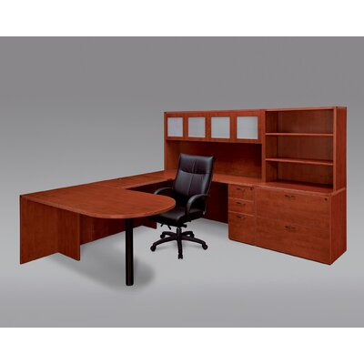 DMI Office Furniture Fairplex Peninsula U-Shape Desk Office Suite