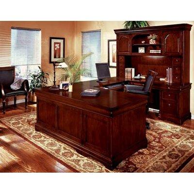 "DMI Office Furniture Rue De Lyon Right Executive ""U"" Desk Grommet Holes"