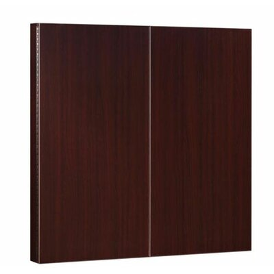 DMI Office Furniture Fairplex Presentation Board in Mahogany