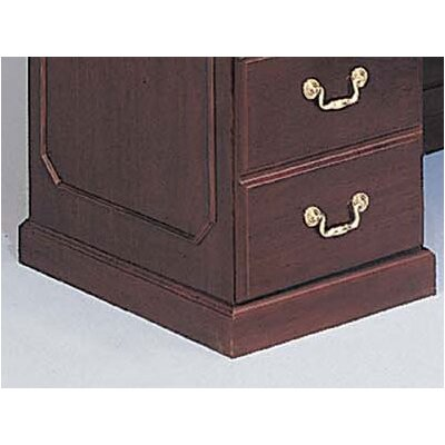 DMI Office Furniture Governor's L-Shape Reception Desk with Left Return