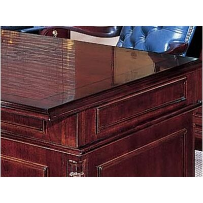 "DMI Office Furniture Keswick Executive ""L"" Desk Suite with Bookcase and Lateral File"