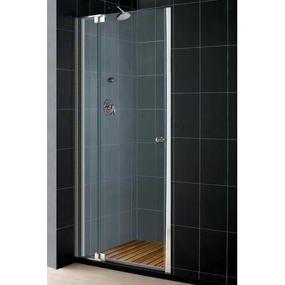 "Dreamline Allure 54"" Frameless Adjustable Pivot Shower Door with Optional Matching Shower Tray"