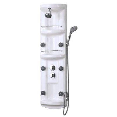 Dreamline Three Shelf Hydrotherapy Shower Column