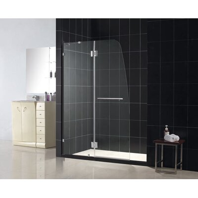 Dreamline Aqualux Hinged Shower Door