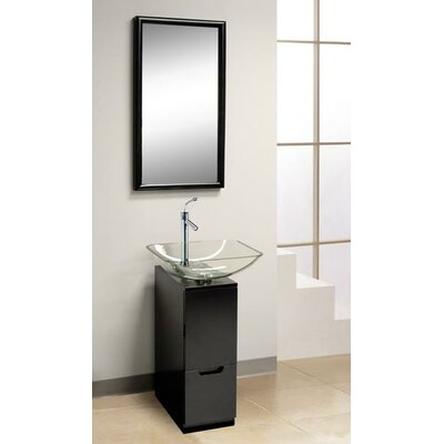 Dreamline Modern Glass Slim Line Vanity