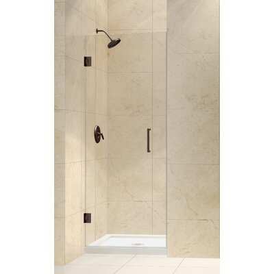 Dreamline Unidoor Frameless Hinged Shower Door | Wayfair