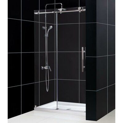 "Dreamline Enigma-X Fully Frameless 56 - 60"" x 76"" Sliding Shower Door"