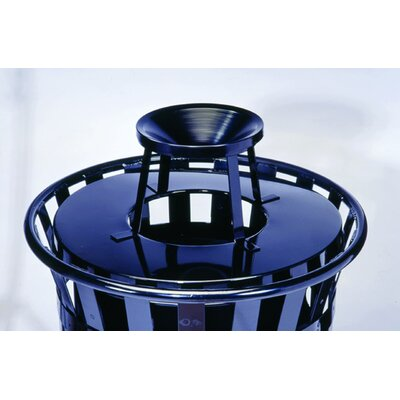 Witt Stadium Series SMB Round 36 Gallon Receptacle with Ash Urn Lid