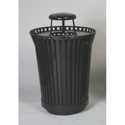 Witt Stadium Series River City 24 Gallon Round Receptacle