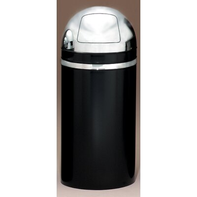 Witt Metal Series Monarch 15 Gallon Dome Top Trash Can
