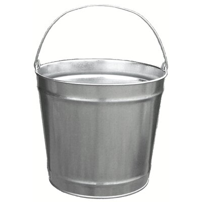 Witt 12 Quart Galvanized Steel Pail