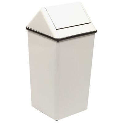 Witt Metal Series Wastewatchers 21 Gallon Receptacle with Rigid Plastic Liner