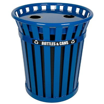 Witt Wydman 36 Gallon Outdoor Recycling Receptacle