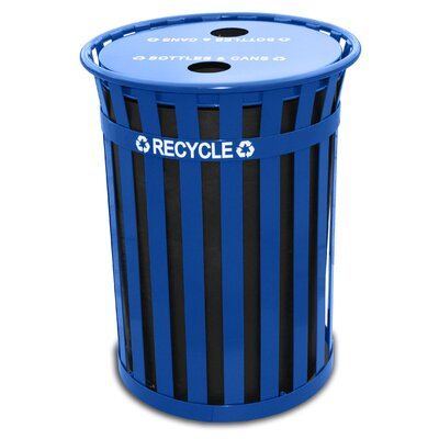 Witt Oakley Outdoor Recycling Receptacle