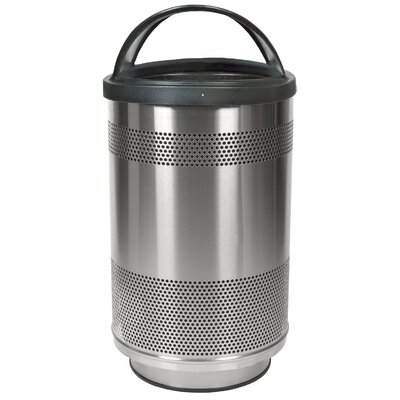 Witt Stadium Series 55 Gallon Stainless Steel Standard Unit with Hood Top Lid