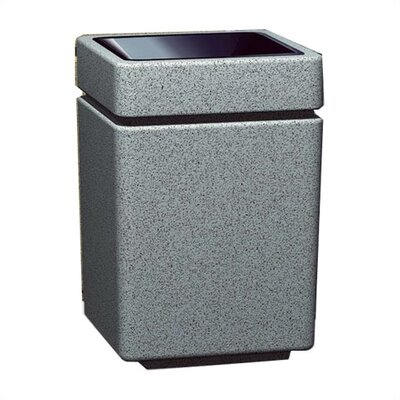 Witt Stadium Series PLC 47 Gallon Square Trash Top Load