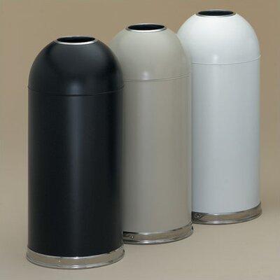 Witt 15 Gallon Metal Series OpenTop Trash Can