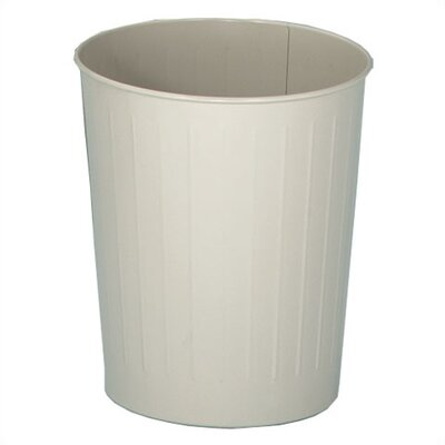 Witt Metal Series 6.5-Gal Round Waste Baskets (Set of 6)
