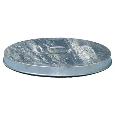 Heavy Duty Flat Top Galvanized Drum Lids (Fits 55 Gallon Drum)