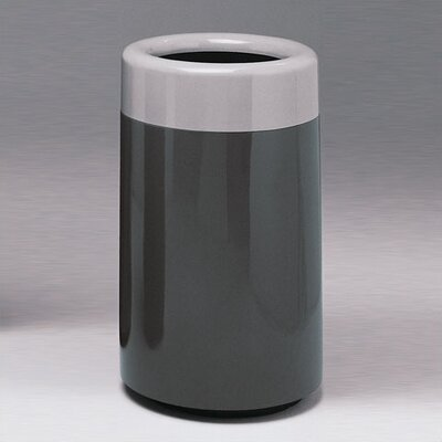 Witt Fiberglass Series 32 Gallon Top Entry Round Receptacle