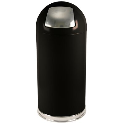 Witt 15 Gallon Metal Series Dome Top Trash Can