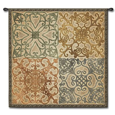 Fine Art Tapestries Geometric Wrought Iron Elegance by Acorn Studios Tapestry