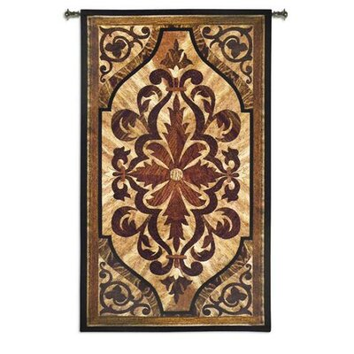 Fine Art Tapestries Wood Inlay Birch BW Wall Hanging