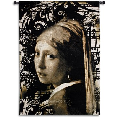 Fine Art Tapestries Vermeer Graffito Tapestry