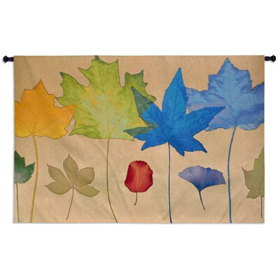 Fine Art Tapestries Leaf Dance III by Robert Merten Tapestry
