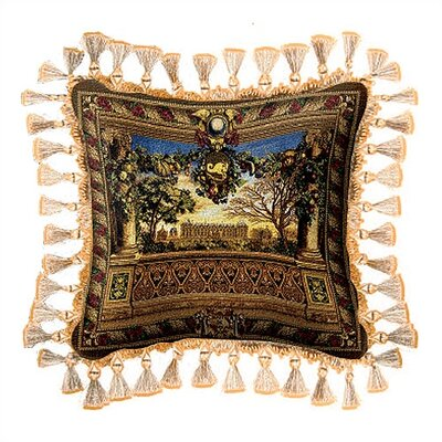 Fine Art Tapestries Le Chateau de Monceau Pillow