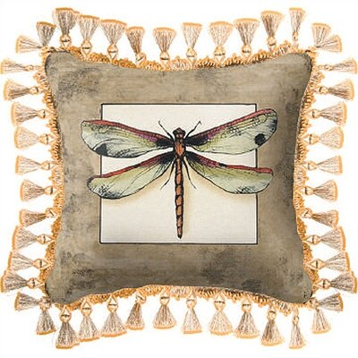 Butterfly Dragonfly I Pillow