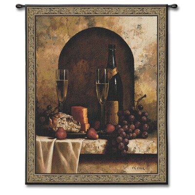 Fine Art Tapestries Classical Date To Remember Small by Loran Speck Tapestry