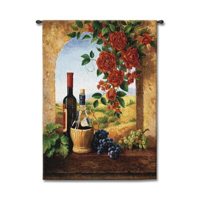 Fine Art Tapestries Patio View - Giacomo, Di