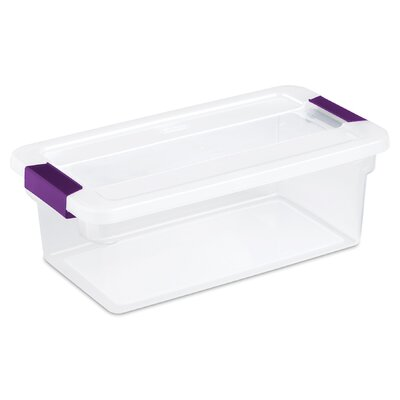 Sterilite ClearView Storage Container