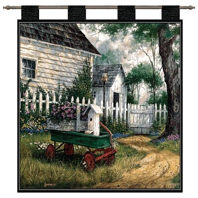 Pure Country Weavers Antique Wagon Tapestry