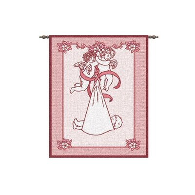 New Angel and Baby Girl Tapestry