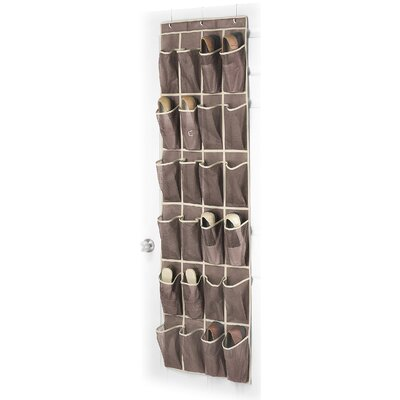 whitmor inc over the door shoe organizer reviews wayfair. Black Bedroom Furniture Sets. Home Design Ideas