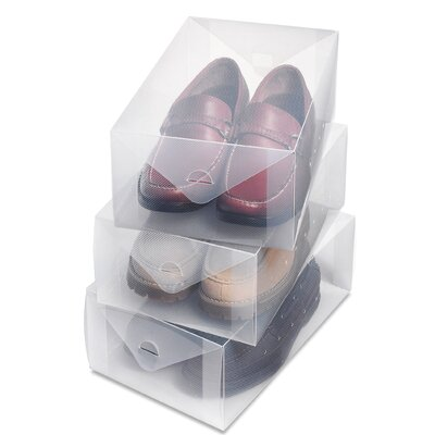 Whitmor, Inc Men's Boot Boxes (Set of 3)
