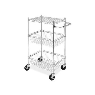 3 Tier Commerical Basket Cart