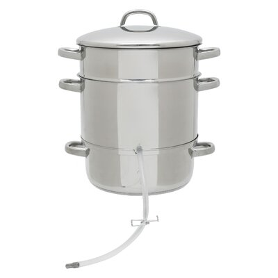 Victorio 11.5 Quart Stainless Steel Steam Juicer