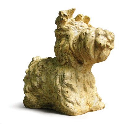 OrlandiStatuary Animals Yorkie Dog Statue