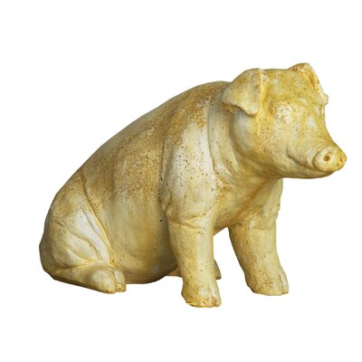 Animals Arnold The Pig Garden Statue