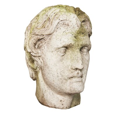 Alexander the Great Head Statue