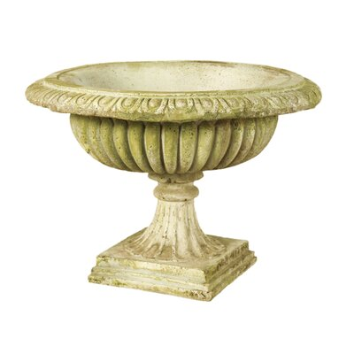 OrlandiStatuary Low Round Urn Planter
