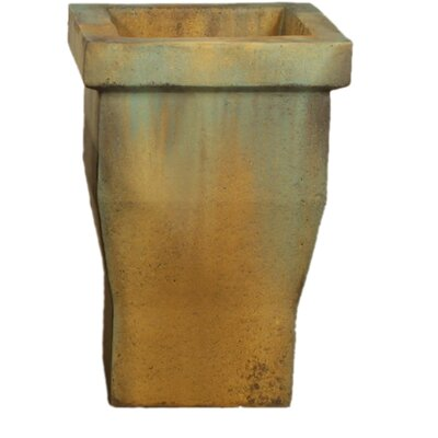 OrlandiStatuary Tall Urban Square Pot Planter #3
