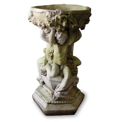 OrlandiStatuary Capri Cherubs Bowl Planter